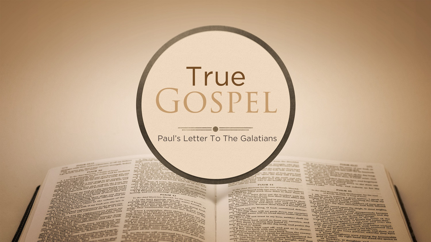 Galatians 3v26-29 The True Gospel Declares We Are Children of God