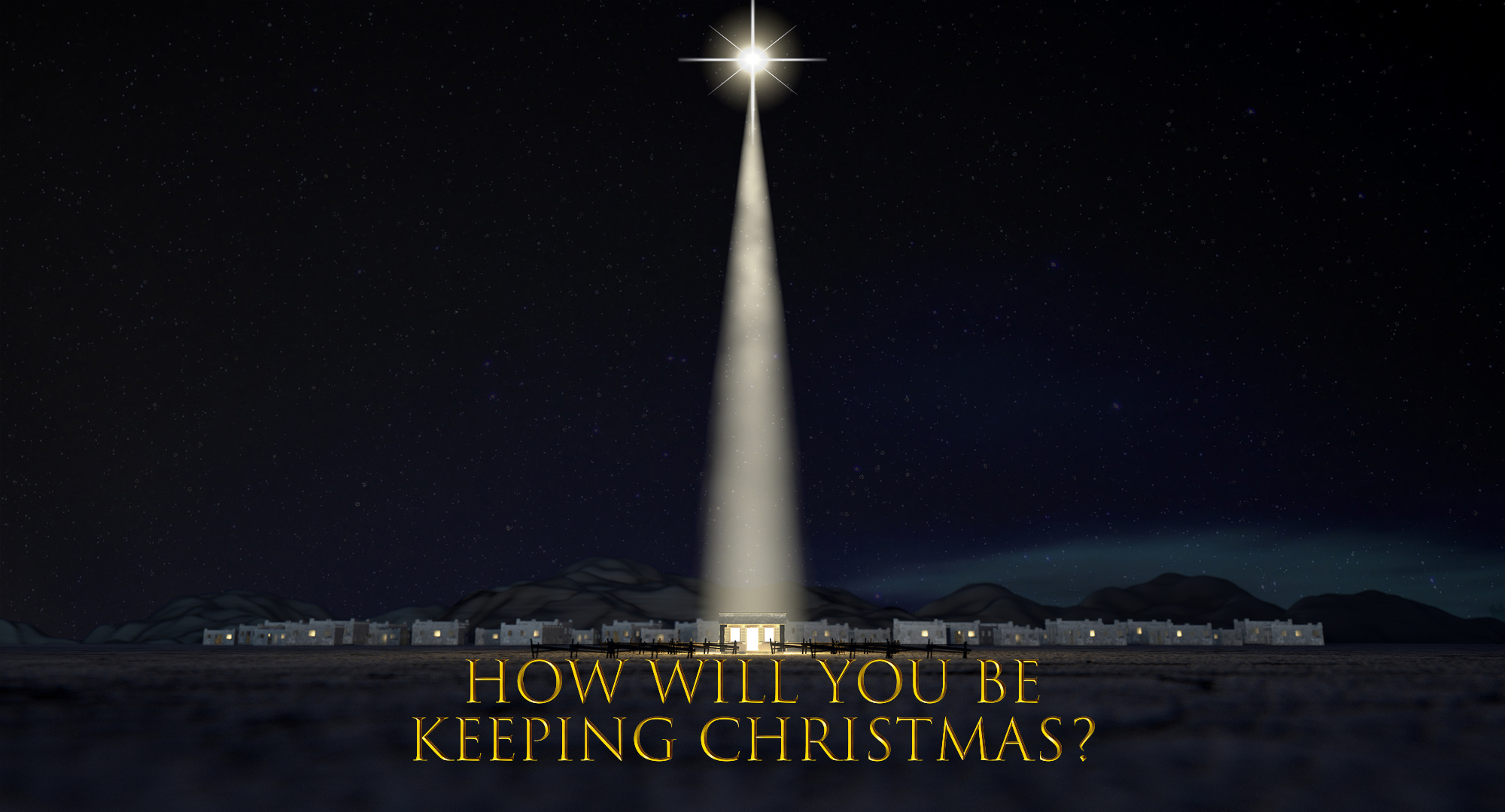 Matthew 1:21 – How Will You Be Keeping Christmas