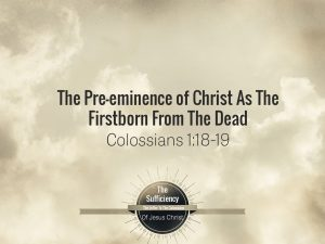 Collosians 1:18-19 Banner
